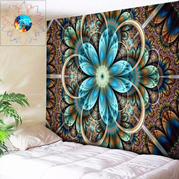 Tapisserie murale style Bohème | Grande tapisserie murale Boho