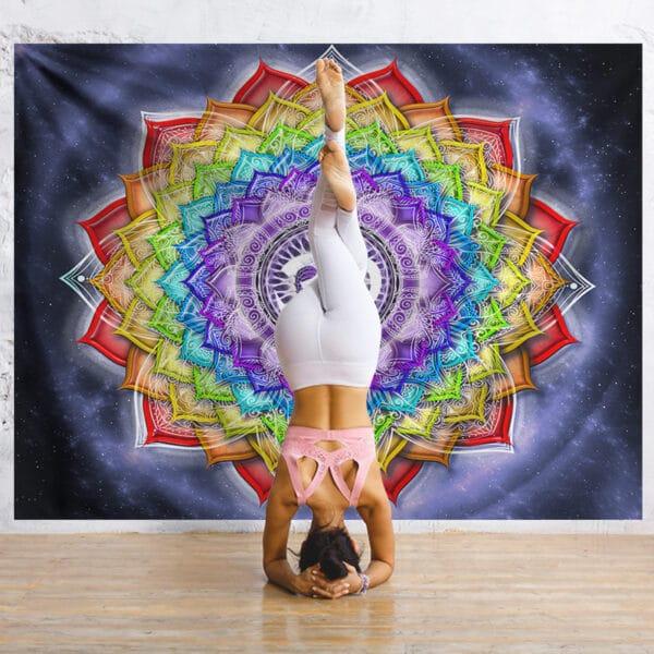 Tenture Indienne Yoga