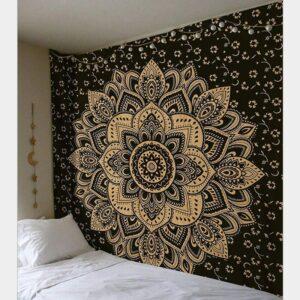 Tapisserie murale Mandala | 95x73cm | Tenture pour maison