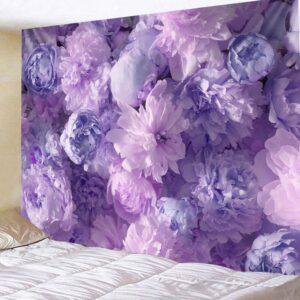 Tenture murale Psychédélique, motif de Rose/fleur