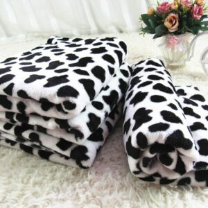 Plaid Chaud chat & chien couverture douce en flanelle polaire
