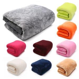 Couverture en flanelle lavable | Couvertures légères et douces super chaudes, couvre-lit/lit/patchwork
