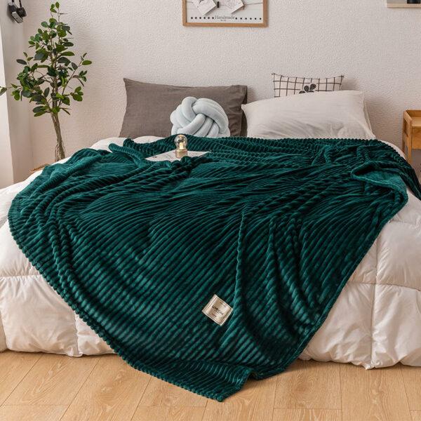 Plaid pour lit | Doux et soyeux | Grandes tailles